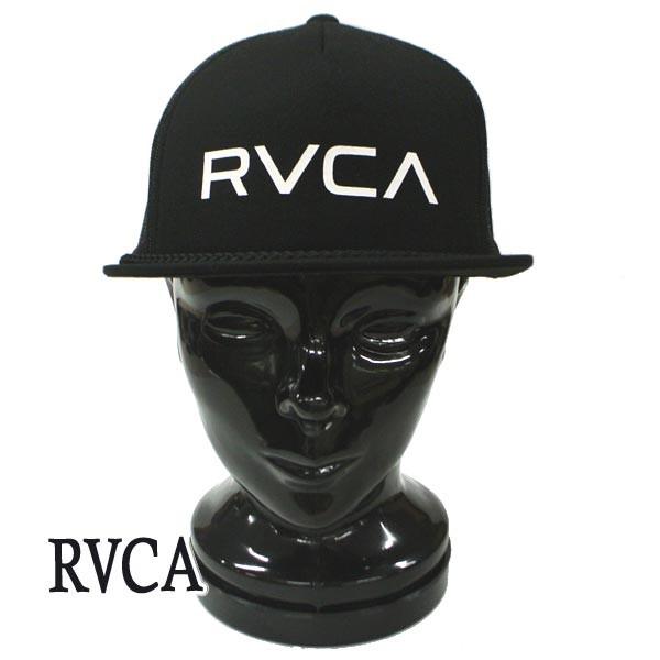 RVCA/ルーカ RVCA FOAMY TRUCKER BLACK CAP/キャ...