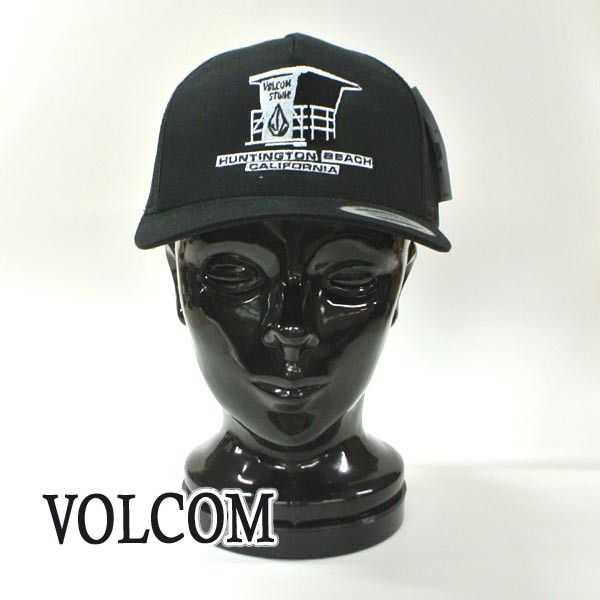 VOLCOM/ボルコム HB TTT HAT BLACK SNAPBACK CAP/...