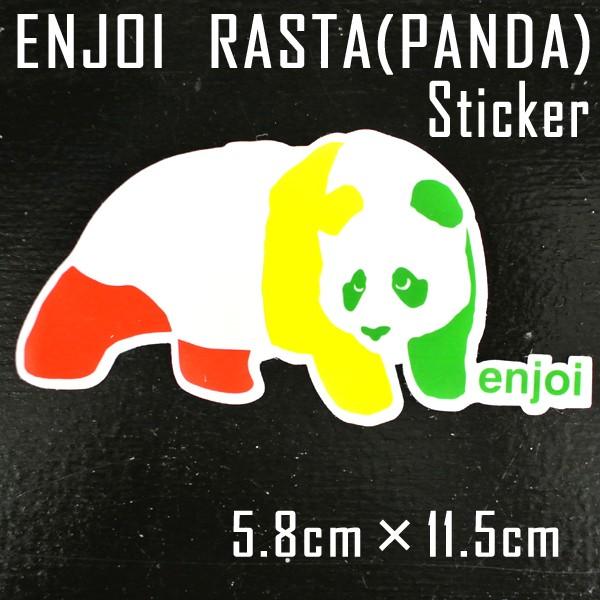 ENJOI/エンジョイ STICKER/ステッカー 【RASTA】P...