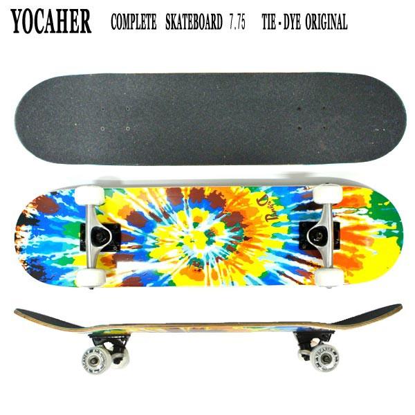 YOCAHER コンプリートスケートボード/スケボー CO...