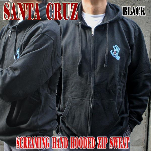 SANTA CRUZ/サンタクルズ SCREAMING HAND ZIP HOO...