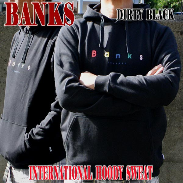 BANKS/バンクス INTERNATIONAL PULLOVER DIRTY BL...