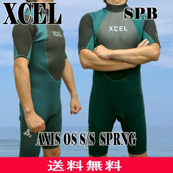 XCEL/エクセル 2mm AXIS OS S/S SPRING WET SUITS...