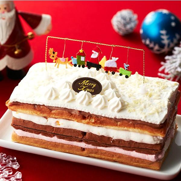 クリスマスケーキ ホワイトXmasワッフル ( ワッフ...
