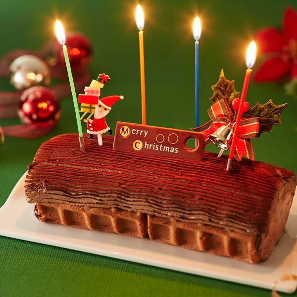 クリスマスケーキ ショコラノエル ( チョコレート...