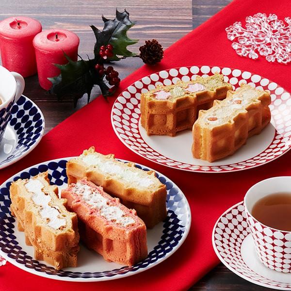 クリスマス お歳暮 ギフト ケーキ 季節のワッフル...