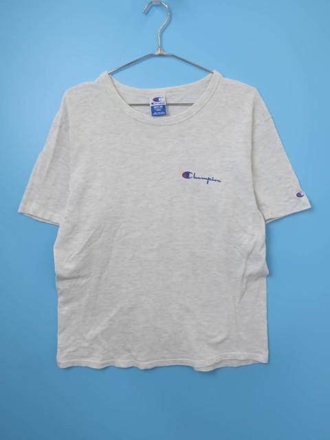 Champion(チャンピオン)ロゴTシャツ 半袖 グレー/...