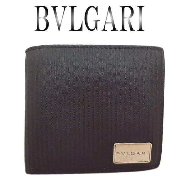美品 BVLGARI ブルガリ ミレリゲ 2つ折り財...