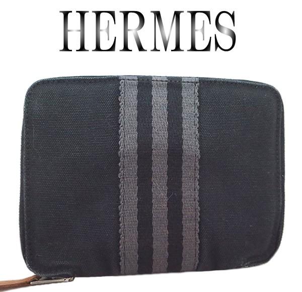 美品 HERMES エルメス フールトゥ パース 財...