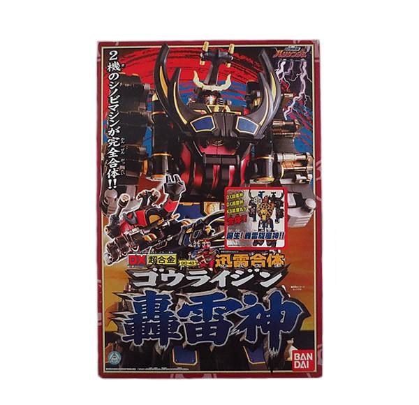 新品 忍風戦隊ハリケンジャー 轟雷神 完品