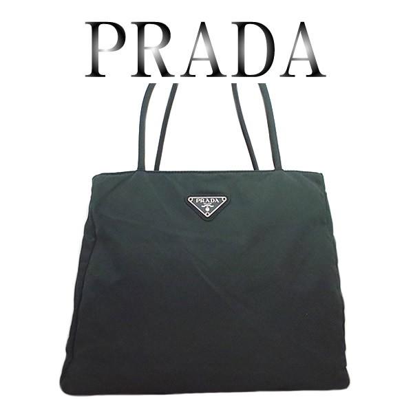 美品 PRADA プラダ ナイロン トートバッグ