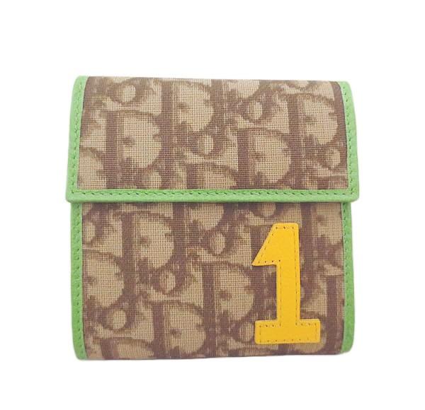 新品同様 Dior ディオール ラスタ 財布