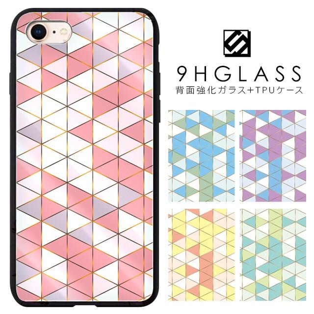 iPhoneケース 背面強化ガラスケース 背面ガラス i...