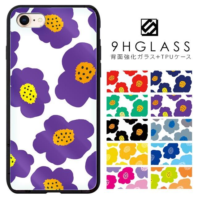iPhoneケース 背面強化ガラスケース 背面ガラス ...
