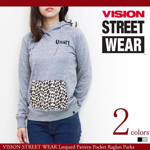 レディース パーカー スウェット VISION STREET W...