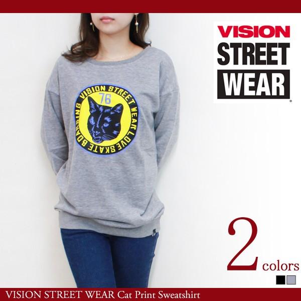 レディース スウェット トレーナー VISION STREET...