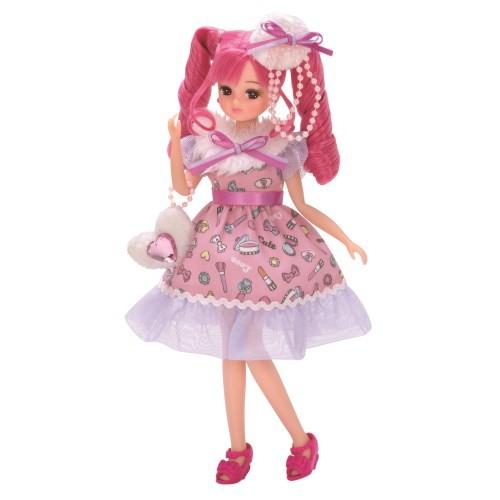 リカちゃん人形【LD-15 コスメチックピンク】タカ...