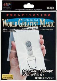 マジック・手品【魔法のメモパッド】ワールドグレ...