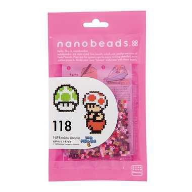 ★特価★ナノビーズ(アイロンビーズ)【118 1UP...