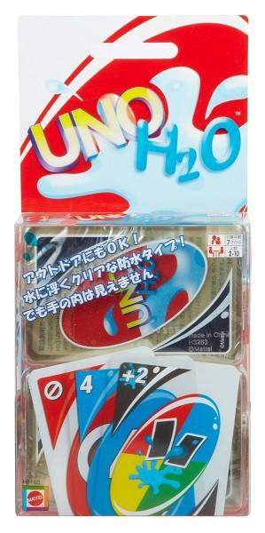 水中でも遊べる!UNO ウノ【H2Oウノ】カードゲー...