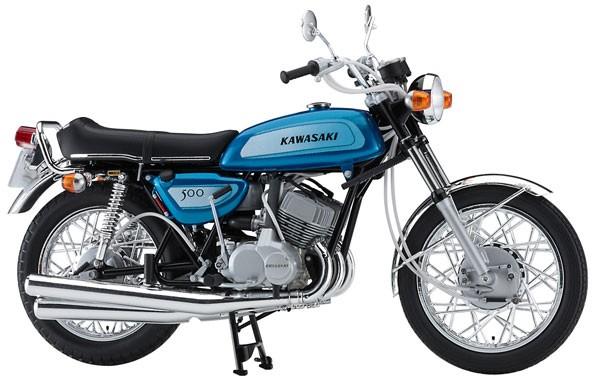1/12 プラモデル バイク【カワサキ 500-SS/MACHII...