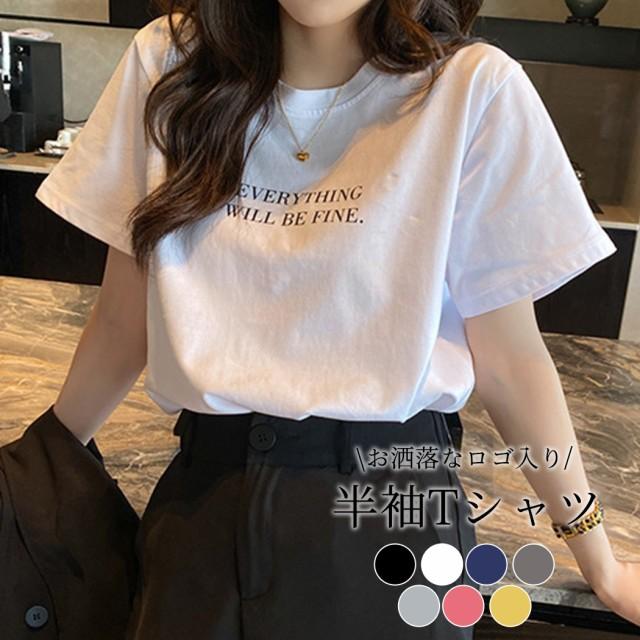 秋新作  Tシャツ レディース 半袖 カジュアル お...