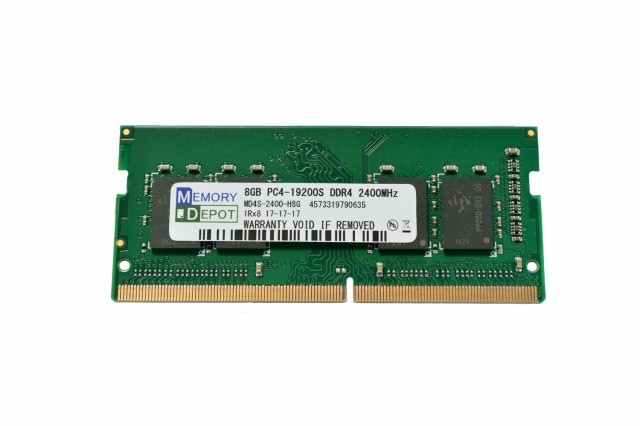 SODIMM 8GB PC4-19200 DDR4 2400 260pin CL17 PC...