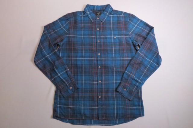 ハーレー チェックシャツ HURLEYビエラチェック...