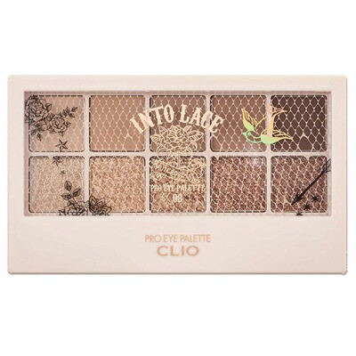 CLIO クリオ プロアイパレット #08 INTO LACE 0.6...