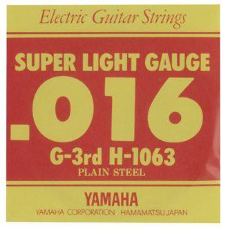 YAMAHA/エレキギター弦バラ H-1063(3G)【ヤマハ】...