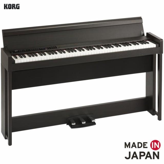 KORG/デジタルピアノ C1 AIR-BR ブラウン(木目調...