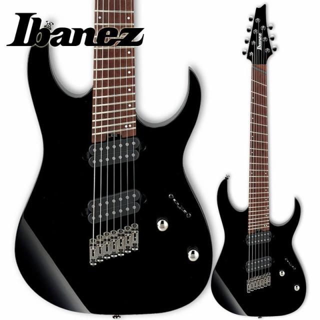 Ibanez RGMS7-BK (Black) マルチ・スケール7弦エ...