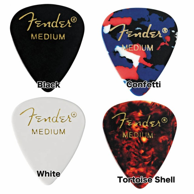 Fender/ピック 351 Shape Classic Picks Medium 1...