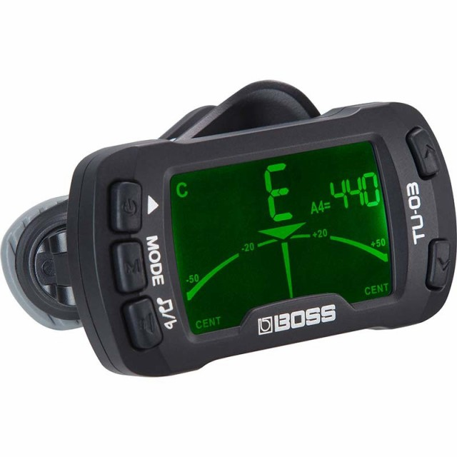BOSS CLIP-ON TUNER & METRONOME TU-03 クリップ...