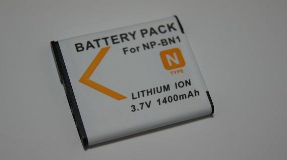 SONY  NP-BN1 対応互換大容量バッテリー ☆DSC-T1...