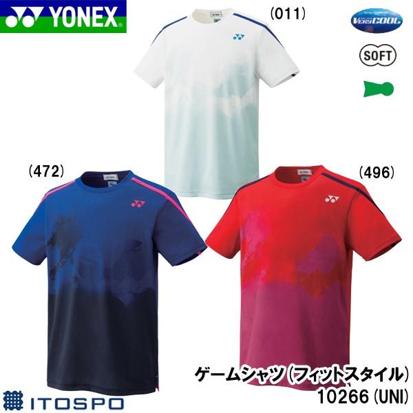 ヨネックス ゲームシャツ(フィットスタイル)10266...
