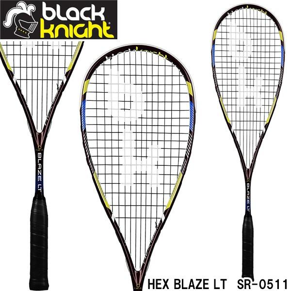 ブラックナイト スカッシュラケット HEX BLAZE LT...