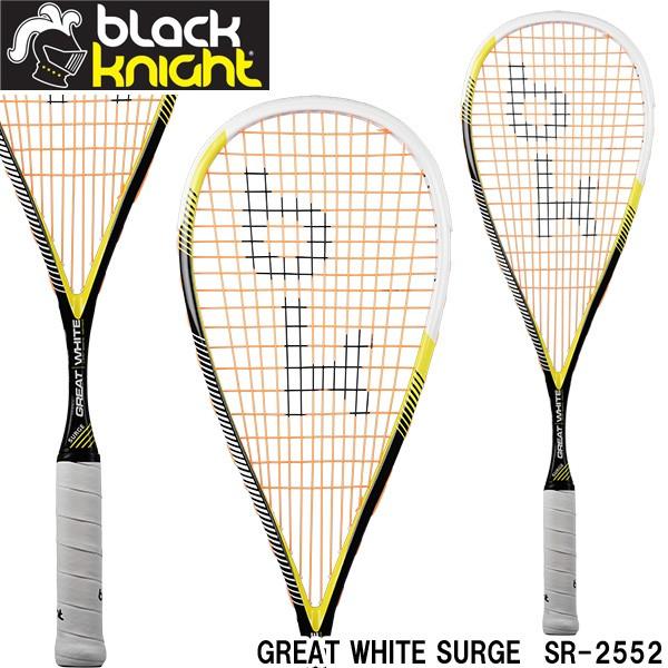 ブラックナイト スカッシュラケット GREAT WHITE ...