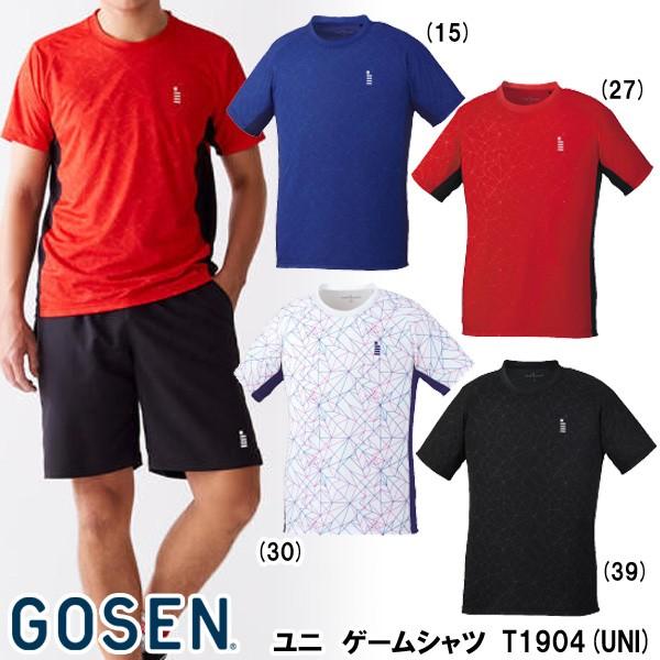 【メーカー】ゴーセン ユニゲームシャツ T1904(UN...