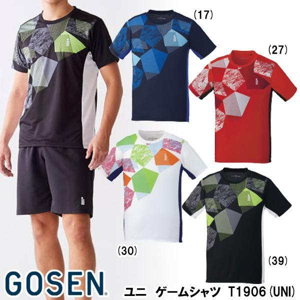 【メーカー】ゴーセン ユニゲームシャツ T1906(UN...