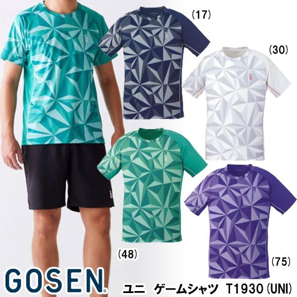 【メーカー】ゴーセン ユニゲームシャツ T1930(UN...