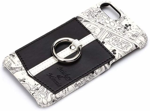 PGA iPhone 8/7用 ハードケース ポケット&リング...