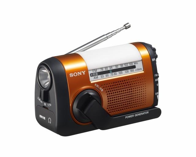 ソニー SONY ポータブルラジオ ICF-B09 : FM/AM/...