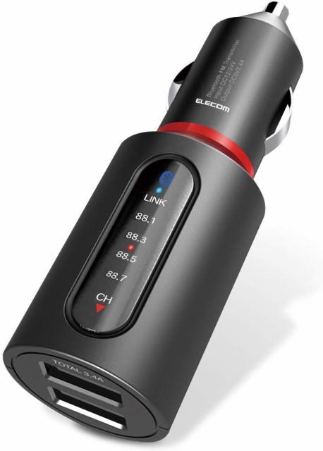 エレコム FM トランスミッター 高音質 Bluetooth ...