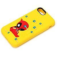 送料無料PGA iPhone 8/7/6s/6用 MARVELシリコンケ...