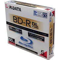 送料無料!ライテック製 RiDATA 片面2層 50GB 長...