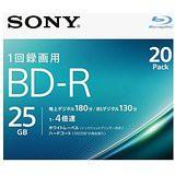 送料無料!ソニー 4倍速対応BD-R 20枚パック 25G...
