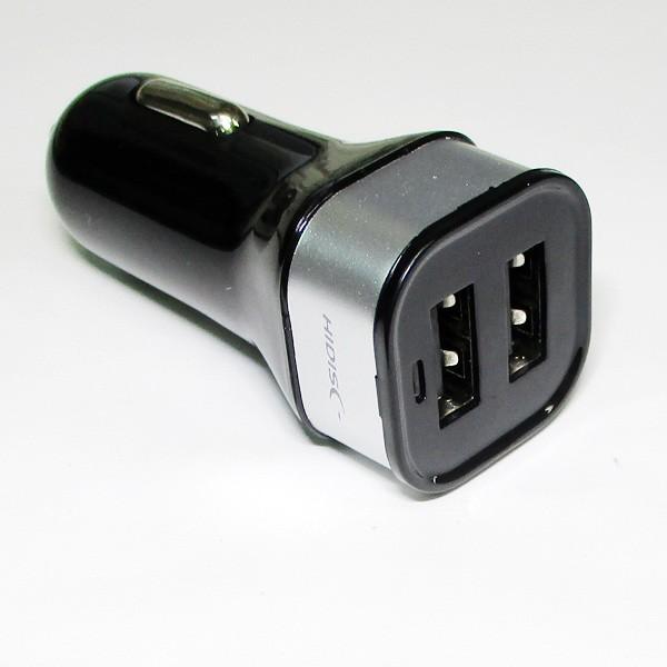 車載用DC充電器/2ポートDC-USB充電器 HDUDCC2P3AB...