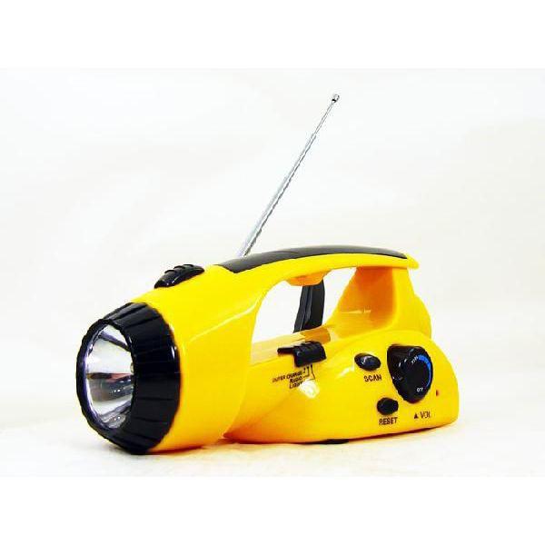 手回し充電で、電池要らず/ ダイナモ ハンディ ラ...