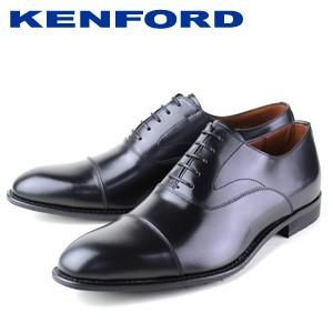 ビジネスシューズ 本革 ブラック ケンフォード KE...